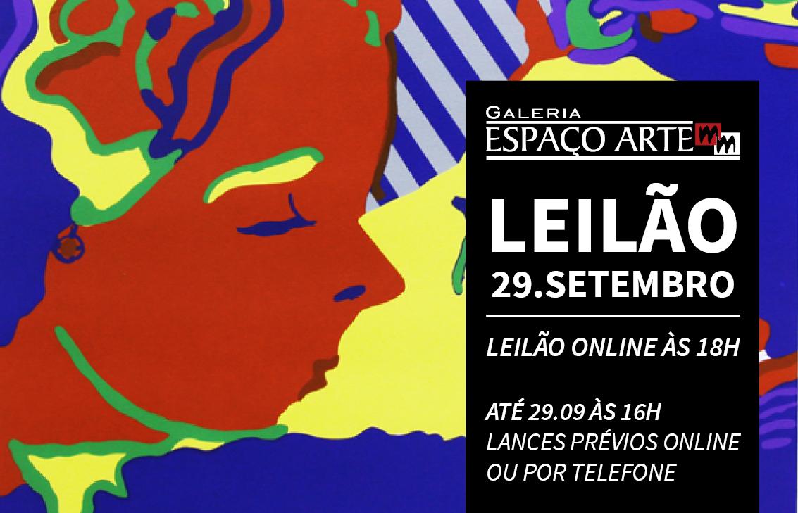 Leilão Espaço Arte MM