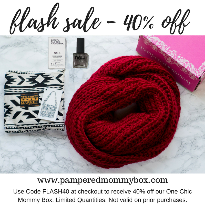 FLASH SALE at Pampered Mommy B...