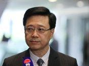 El secretario de Seguridad John Lee Ka-Chiu anuncia la retirada del proyecto de ley de extradición.