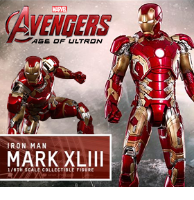 1/6 SCALE DIECAST IRON MAN MARK XLIII