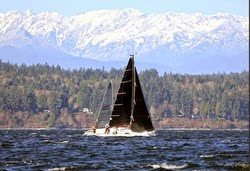 J/88 sailing Pacific Northwest