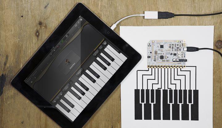 Touch Board MiDi iPad