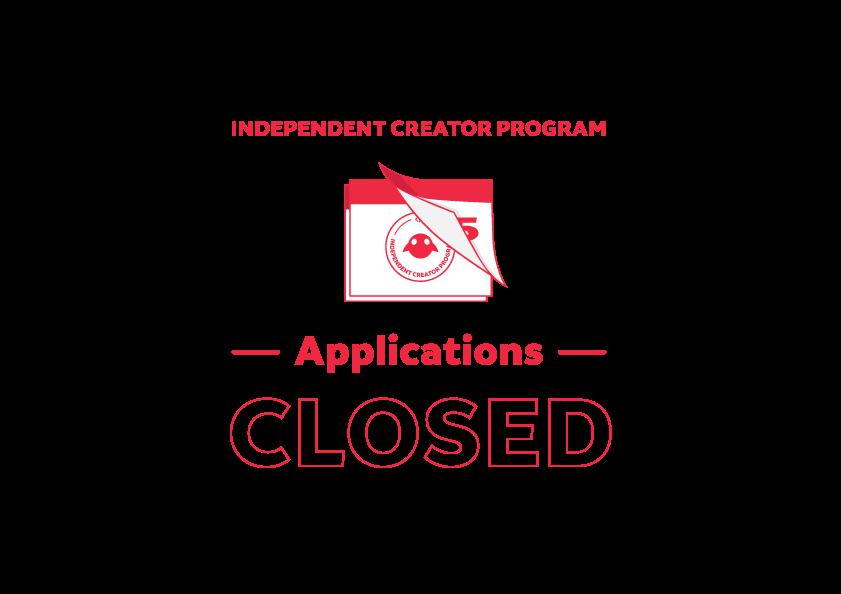 獨立創作者計劃 - 應用程序 - 已關閉