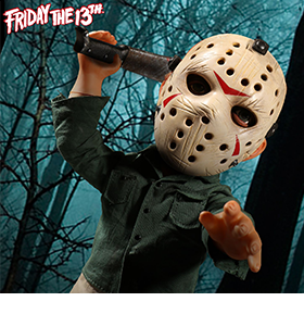 MEZCO FRIDAY THE 13TH JASON MEGA FIGURE