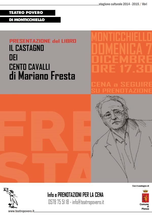 Locandina presentazione libro Mariano Fresta
