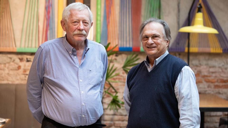 Carlos Gianella y Eduardo Dvorkin.