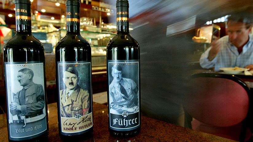 La resaca del vino 'nazi': Polémica por la fotos de una política alemana con botellas 'hitlerianas'