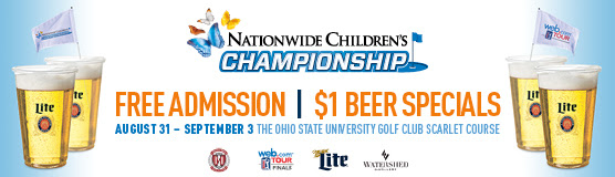 Free Admission to the Nationwide Childrens Championship on the OSU Golf Club Scarlet Course. Click for more specials for this event_