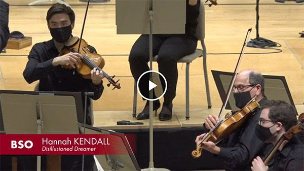 [Andris Nelsons conducts Hannah Kendall's Disillusioned Dreamer]