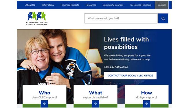 New CLBC Homepage