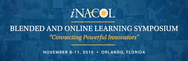 2015 iNACOL Blended and Online Learning Symposium