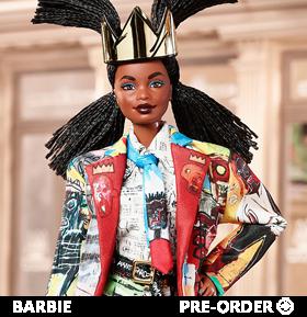 Jean-Michel Basquiat Barbie Doll