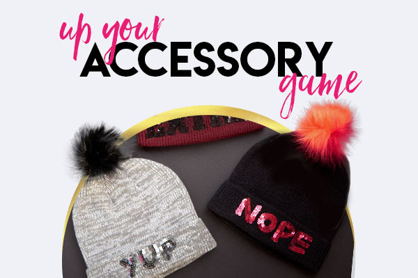 Up your accessory game
