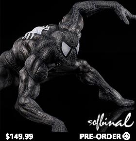 Marvel Sofbinal Spider-Man (Black Suit Ver.)