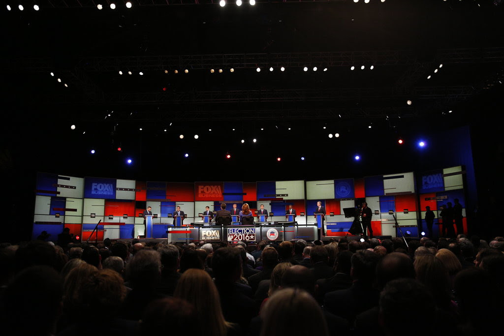 The Republican mainstage debate on Thursday.