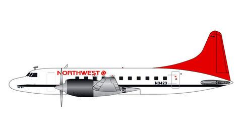 G2NWA807 | Gemini200 1:200 | Convair 580 Northwest N3423 | is due: February 2020
