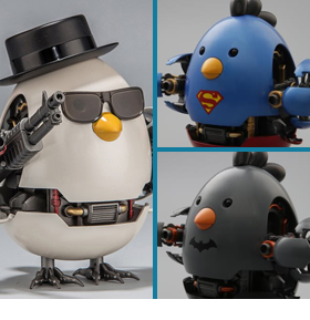 Q-Mech Battle Chickens
