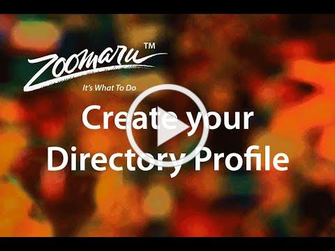 Create a Directory Profile, Amador Arts Council