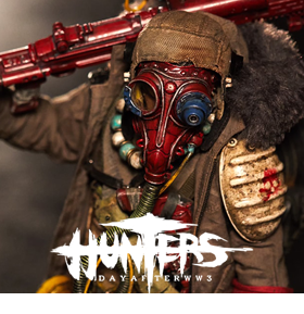 HUNTERS: DAY AFTER WWII THE BOY 1/6TH SCALE FIGURE