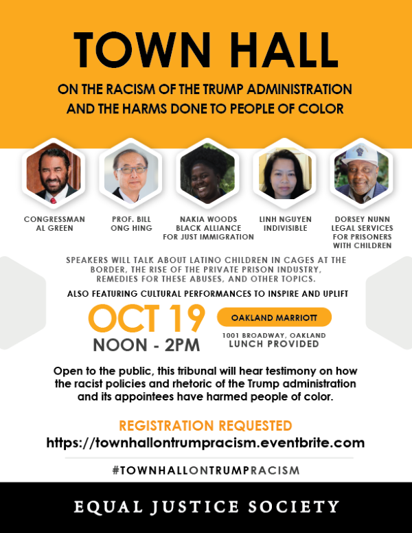 Town Hall on Racism in the Trump Administration