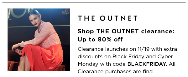 The Outnet Best Black Friday Sales