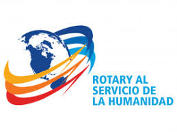 Resultado de imagen de logo rotary al servicio de la humanidad