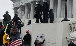 Imagen del asalto al Capitolio de Washington D.C.