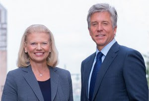 Ginni-Rometty-and-Bill-McDermott