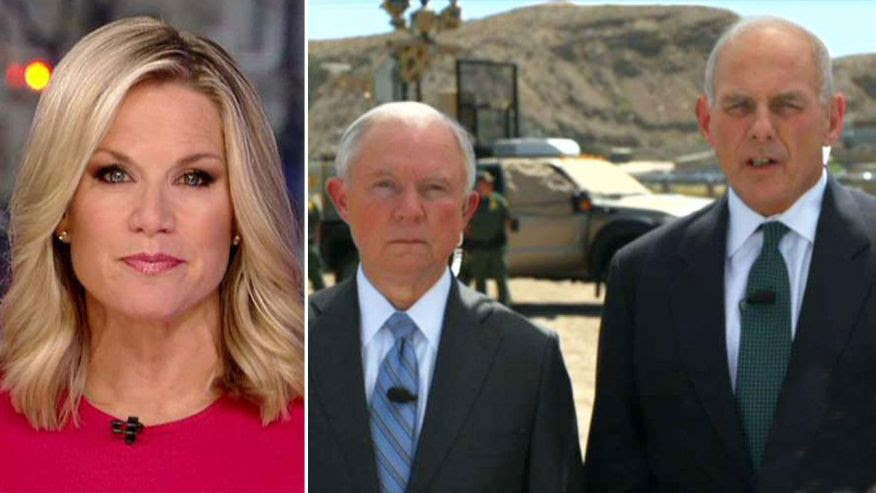 Kelly: Border Wall Will Move Forward 'by the end of the summer'