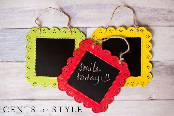 Chalkboard Clipboard- $10.95 & FREE SHIPPING with Code MSMHOME
