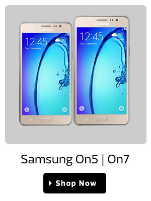 Samsung On5 | On7.Starting At Rs.8,999