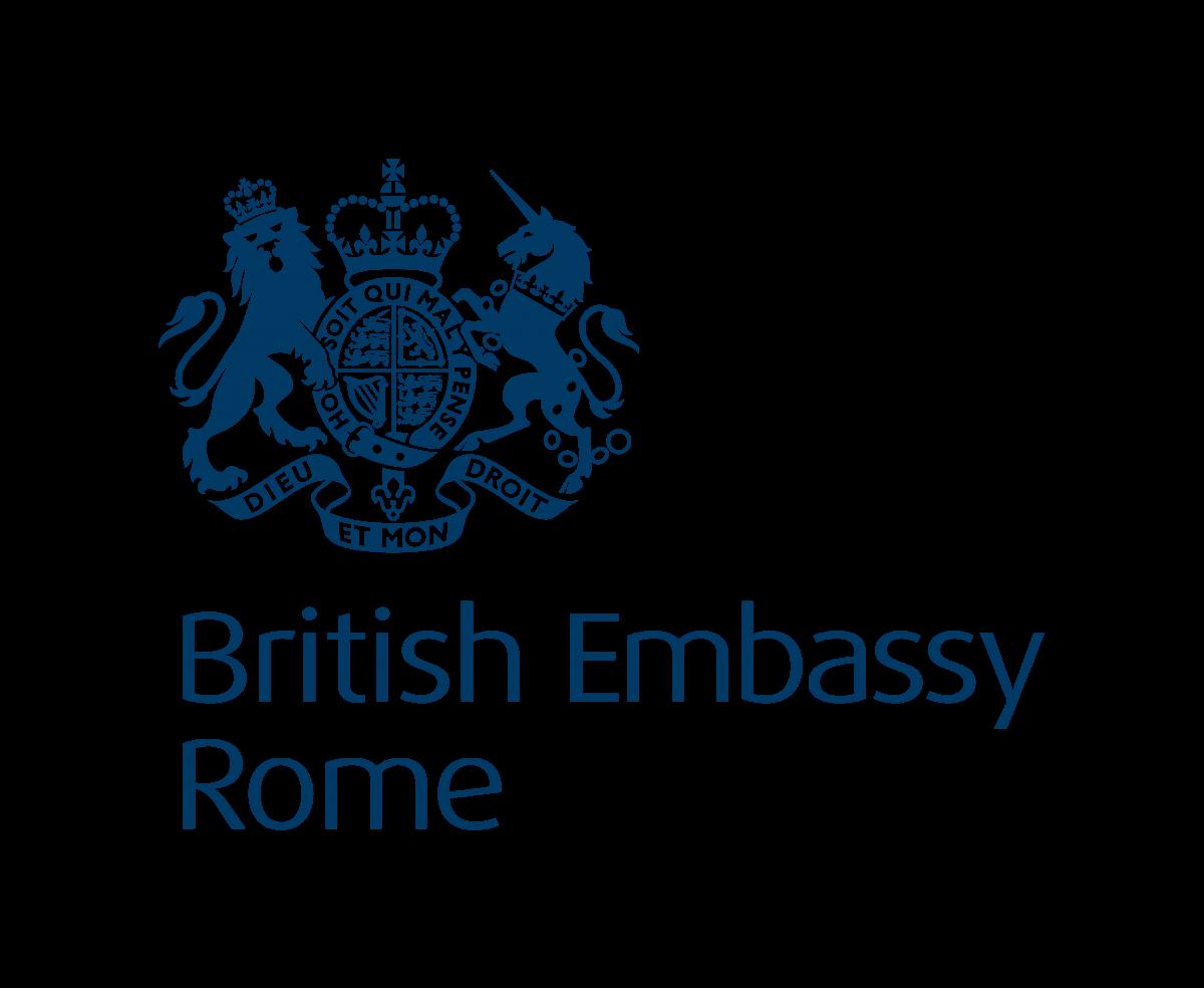 Logo Ambasciata Regno Unito