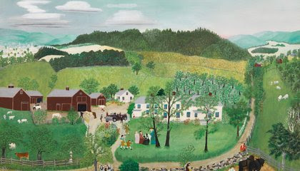 How the U.S. Government Deployed Grandma Moses Overseas in the Cold War image