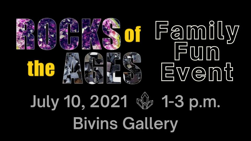 Panhandle-Plains Historical Museum Rocks Of the Ages @ Bivins Gallery