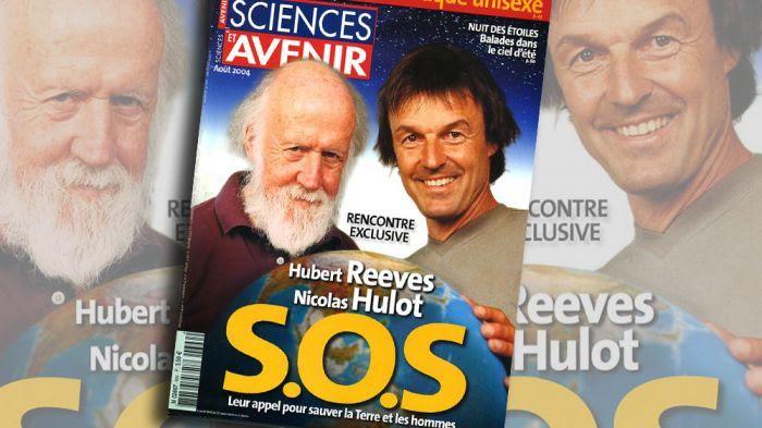 Hubert Reeves et Nicolas Hulot