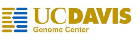 UCDavis Genome Center logo