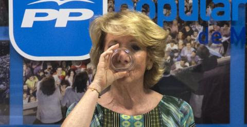 Esperanza Aguirre./ REUTERS