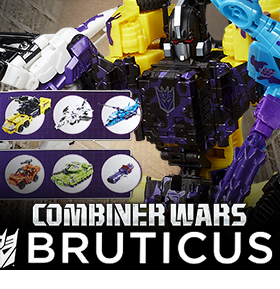 GENERATIONS COMBINER WARS G2 BRUTICUS COLLECTION PACK