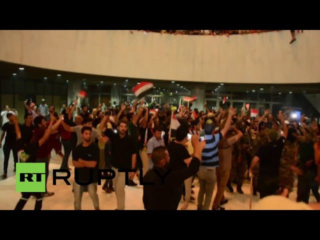 Iraq: State of emergency declared after protesters storm parliament  Sddefault