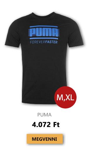 Utolsó darabok - Puma - Retro T Shirt Mens