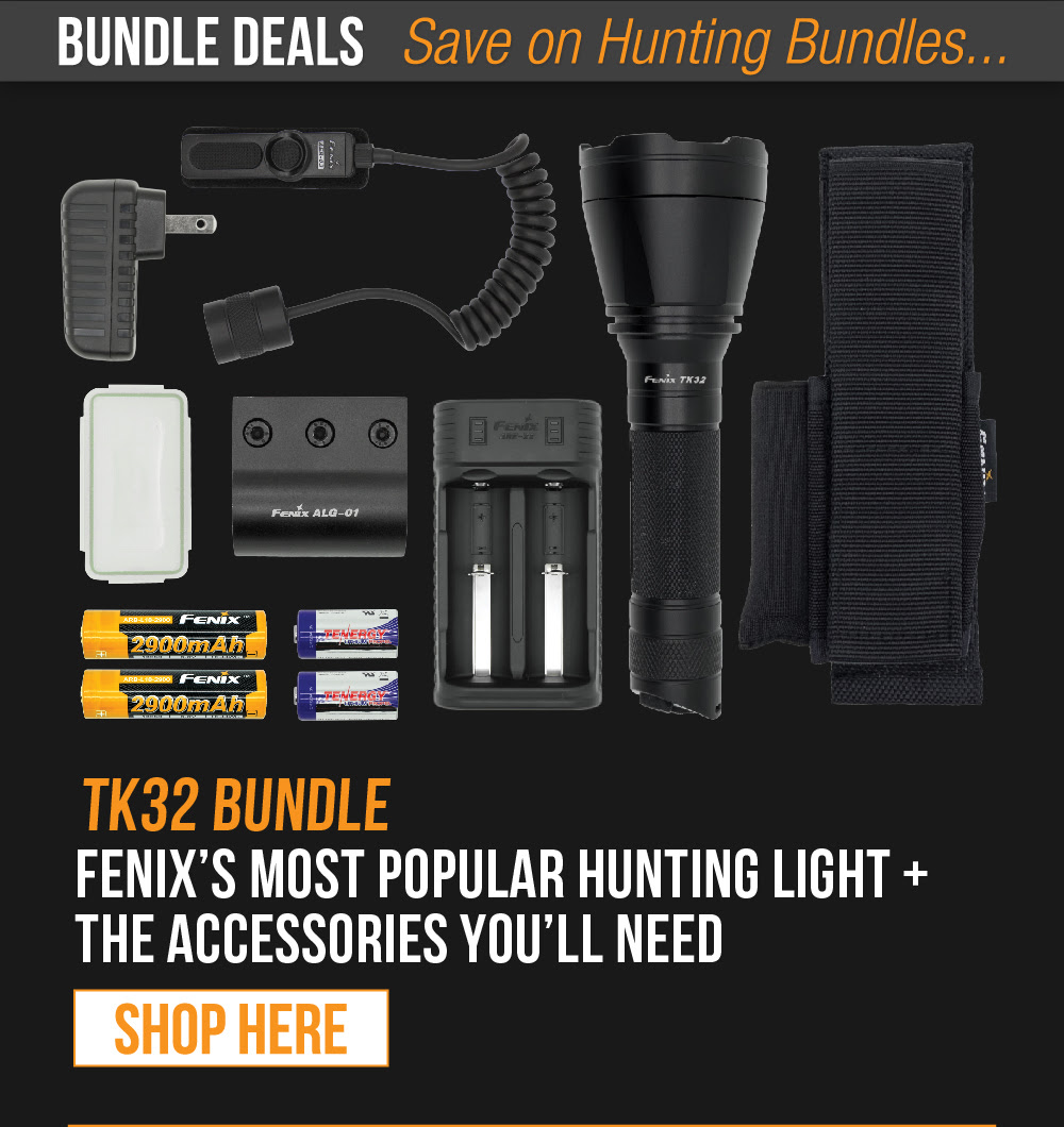 Fenix TK32 Package Deal