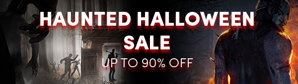 Haunted Halloween Sale