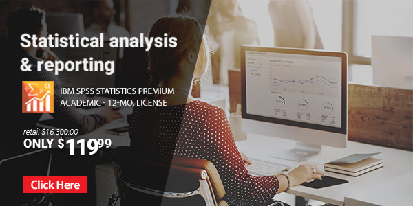 Put the power of advanced statistical analysis in your hands to understand data, identify trends and produce accurate forecasts.