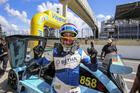 Piloto Bruno Smielevski (SR #858) vence pela primeira vez na Sprint Race (Luciano Santos/SiGCom)
