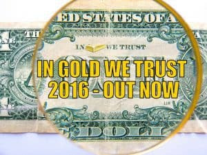 In Gold We Trust 2016 - Out Now!