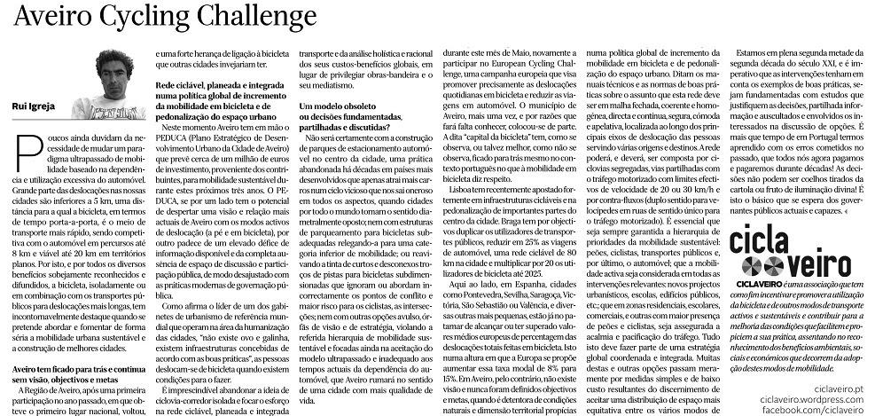 Aveiro Cycling Challenge