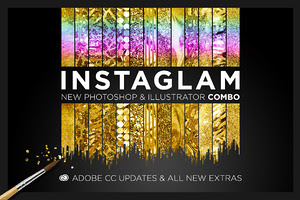 InstaGlam Ps+Ai Creative Cloud Combo