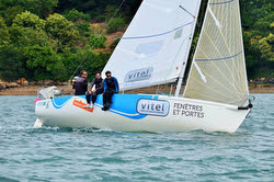 J/80 VITEL sailing team- racing off France