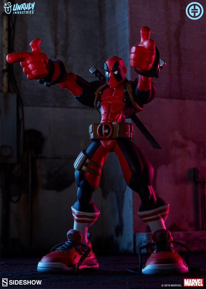 Unruly Industries Deadpool Designer Toy