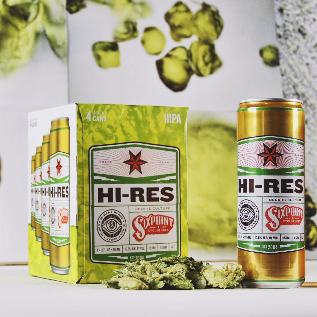 Sixpoint Brewery: Hi-Res Triple IPA